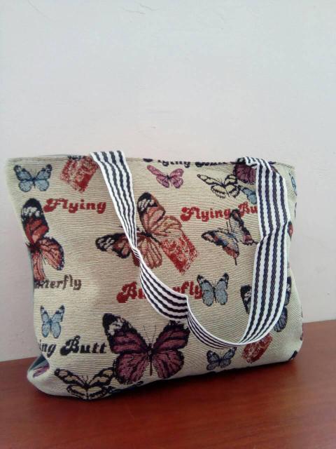 Женская сумка с модным принтом