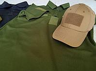 Военные футболки оптом. Пошив футболок поло с велкро.