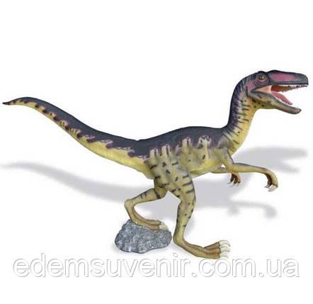 Набивная садовая фигура Динозавр-Дейноних, фото 2