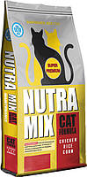 Nutra Mix MAINTENANCE Adult Cat (Нутра Микс) корм для взрослых кошек с умеренной активностью 22.7 кг