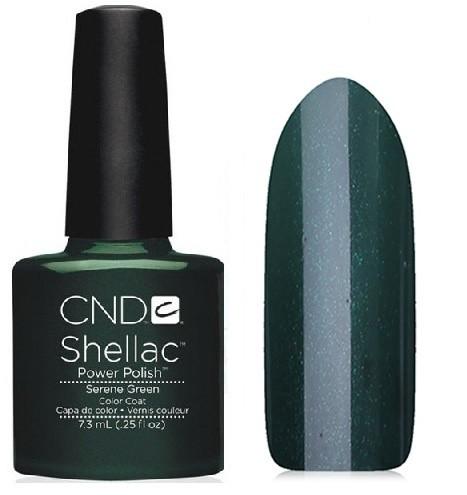 Гель-лак Shellac Serene Green