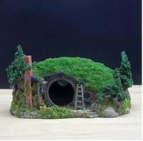 Декор для аквариума домик Бильбо Беггинса (серия Властелин колец)