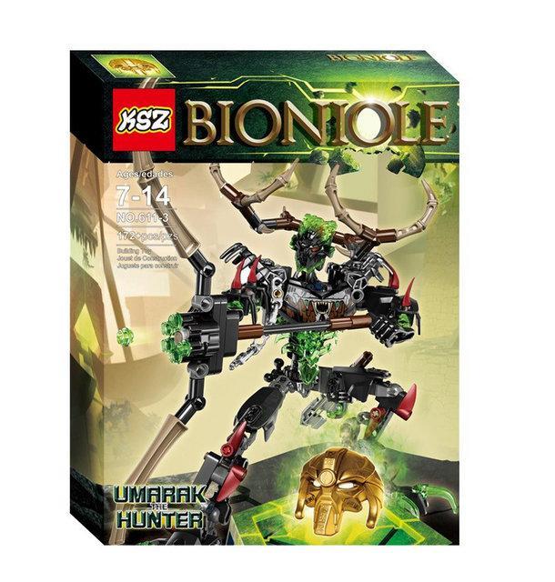 "Конструктор KSZ 611-3 Bionicle ""Мисливець Умарак"""