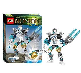 "Конструктор KSZ 611-4 Bionicle ""Копака - Объединитель Льда"", 131 деталей"