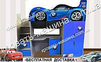 Кровать чердак БМВ Драйв 2150х1800х836, фото 1