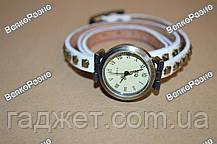 Молодежные дизайнерские наручные часы белого цвета, фото 3
