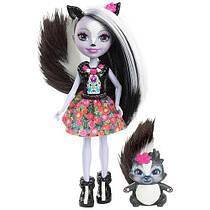 Лялька Энчантималс Сейдж Скунк і скунс Кэйпер / Enchantimals Sage Skunk and Caper