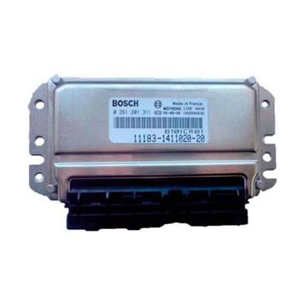 Контроллер системы управления двигателем Bosch 11183-1411020-20, фото 2