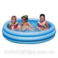 Детский надувной бассейн , с водоотводом в полу (Арт. 58426)