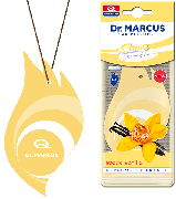 Автоосвежитель воздуха Dr. Marcus Sonic (выбор аромата), Ароматизатор автомобильный (Пахучка в салон авто)MiX Vanilla