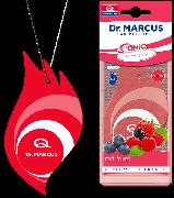Автоосвежитель воздуха Dr. Marcus Sonic (выбор аромата), Ароматизатор автомобильный (Пахучка в салон авто)MiX Red fruits