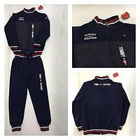 Детский спортивный костюм для мальчика Tommy Hilfiger (Томми)  Реплика.Темно-синий. 8d5d8eb673827