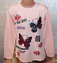 Туника на девочку с красивой спинкой (рисунок меняет цвет) 140,152,164,176 см , фото 2