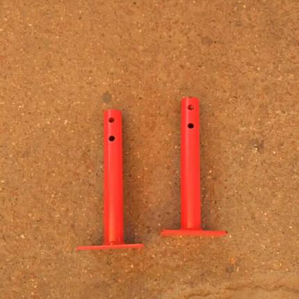 Кругла піввісь мотоблока Ø 25 мм довжина 230 мм РІД, фото 2