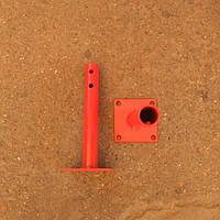 Круглая полуось мотоблока Ø 25 мм длина 230 мм РОД