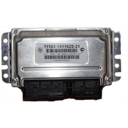 Контроллер системы управления двигателем АВТЭЛ 11183-1411020-21, фото 2