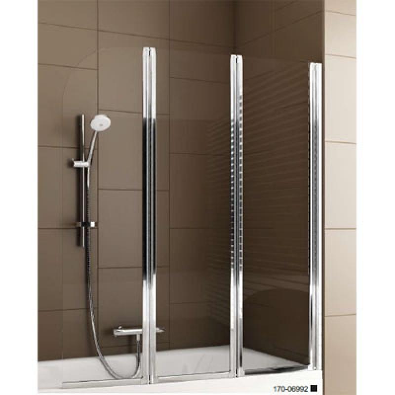 Шторка для ванни 120см Aquaform Modern 3 170-06992 Польща