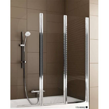 Шторка для ванни 120см Aquaform Modern 3 170-06992 Польща, фото 2