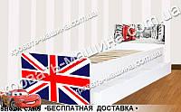 Кровать детская Лондон BEVERLY на ламелях 1900х800, фото 1