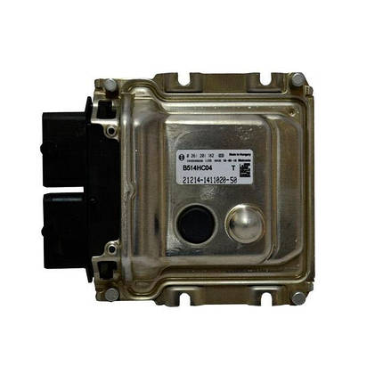 Контроллер системы управления двигателем Bosch 21214-1411020-50, фото 2