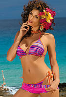 Яркий купальник-тройка (S, XL, XL/M в расцветках), фото 1