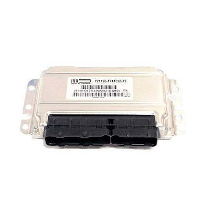 Контроллер системы управления двигателем НПО ИТЭЛМА 21126-1411020-12, фото 2