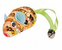 Игрушка Karlie-Flamingo Mouse Spiral для кошек с кошачьей мятой, 6.5 см