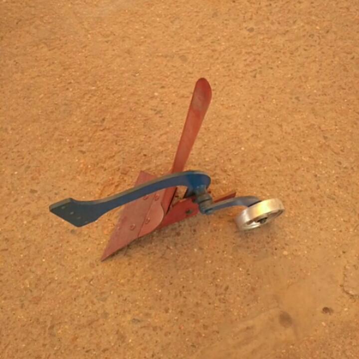 Плуг с опорным колесом (регулируемым) РОД