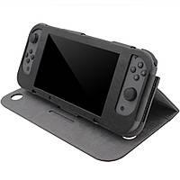 Чехол книжкой для Nintendo Switch / Оригинал / Стекла / Черный /, фото 1