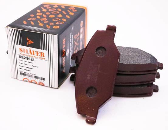 Колодки тормозные передние Skoda Fabia 1.2-1.6D 01.07-, фото 2