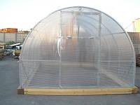 Теплицы из электросварной профильной трубы 20мм и поликарбоната 4мм