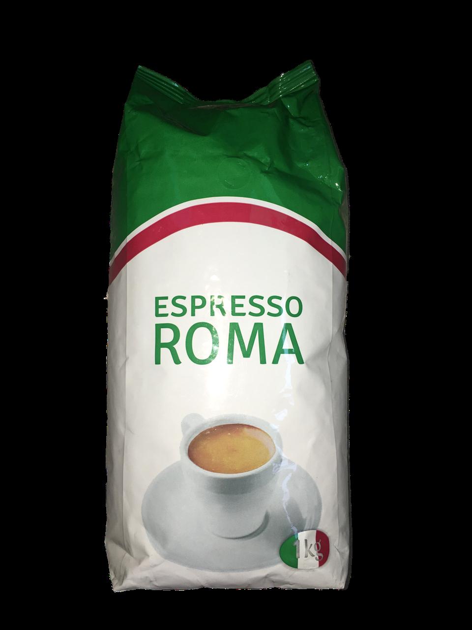 Кофе в зернах Віденська кава Espresso Roma 1кг