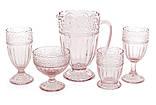 Високий стакан 325мл, колір - рожевий 6 шт., фото 2