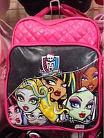 Детский рюкзак Monster High 40 х 30+ЭКО КОЖА !!! (Арт. 4030)