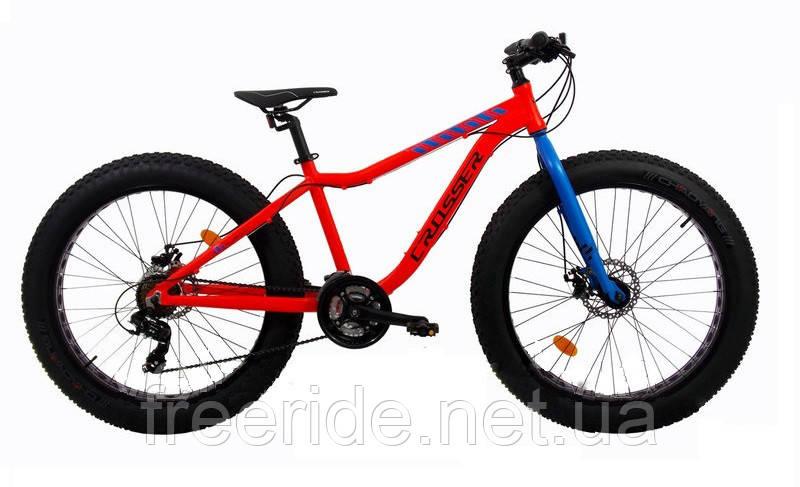 Фэтбайк Велосипед Crosser FatBike 26 (16 рама) алюминий
