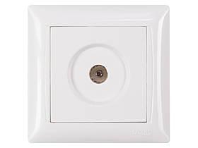 Розетка телевизионная Luxel PRIMERA (3009) белая