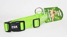 Светодиодный ошейник для собак, светящийся ошейник, красный M, фото 3