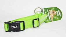 Светодиодный ошейник для собак, светящийся ошейник, зеленый L, фото 3