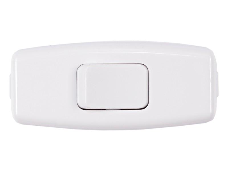 Выключатель Luxel для бра белый (1007)