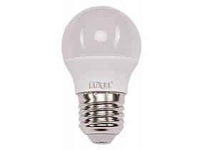 Светодиодная лампа Luxel G45 7W 220V E27 (050-N 7W)