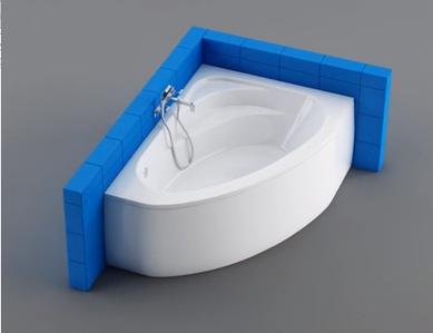 Асиметричні ванни акрилові