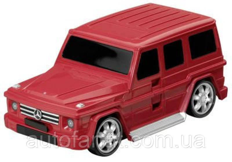 Оригинальный детский чемодан Mercedes-Benz Suitcase, Children, Red/Black (B66954102)