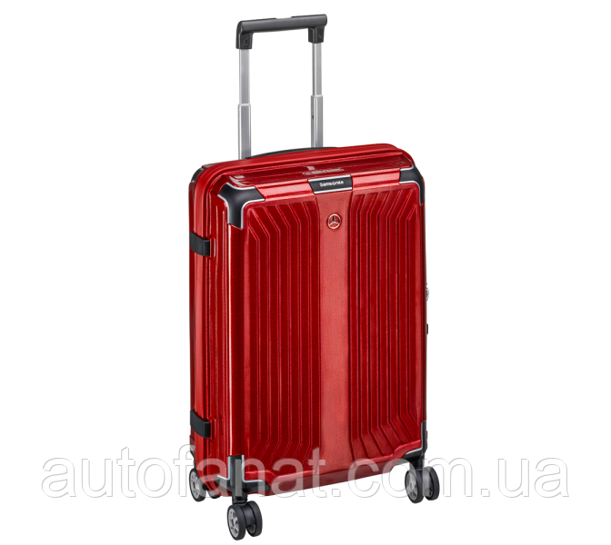 Чемодан для ручной клади Mercedes-Benz Suitcase, Lite Cube, Spinner 55, Hyacinth Red, by Samsonite (B66958489)
