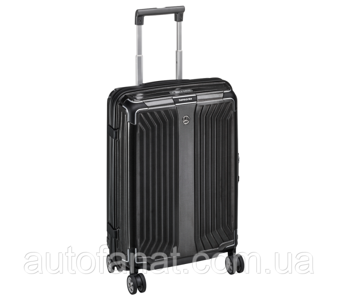 Чемодан для ручной клади Mercedes-Benz Suitcase, Lite Cube, Spinner 55, Black, by Samsonite (B66958486)