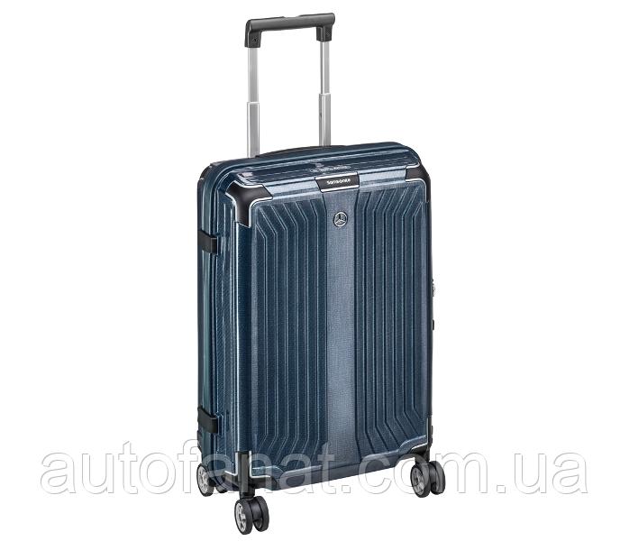 Чемодан Mercedes-Benz Suitcase, Lite Cube, Spinner 69, Denim Blue, by Samsonite (B66958484)