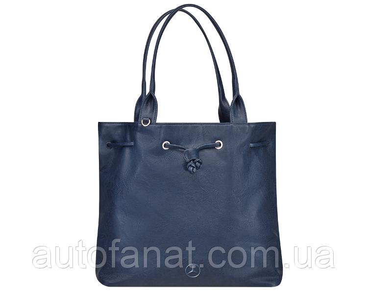 Оригинальная женская сумка Mercedes-Benz Handbag, Blue, Polyurethane (B66953729)