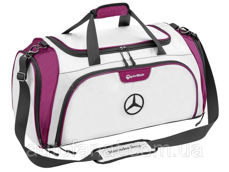 Спортивная сумка Mercedes-Benz Golf Sports Bag, White/Plum, артикул B66450154