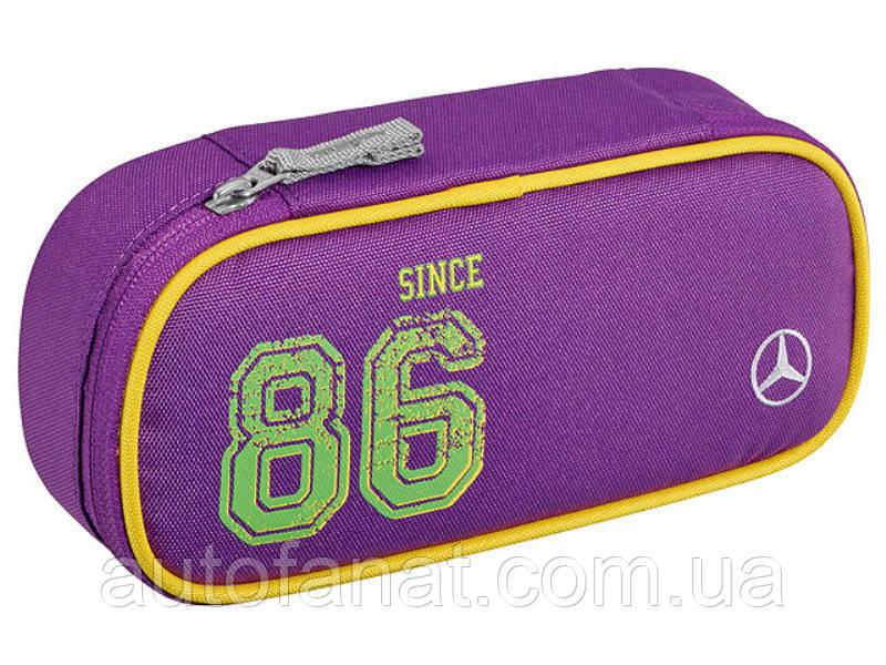 Оригинальный детский пенал Mercedes-Benz Pencil Case, Kids, Purple Lemon (B66958431)