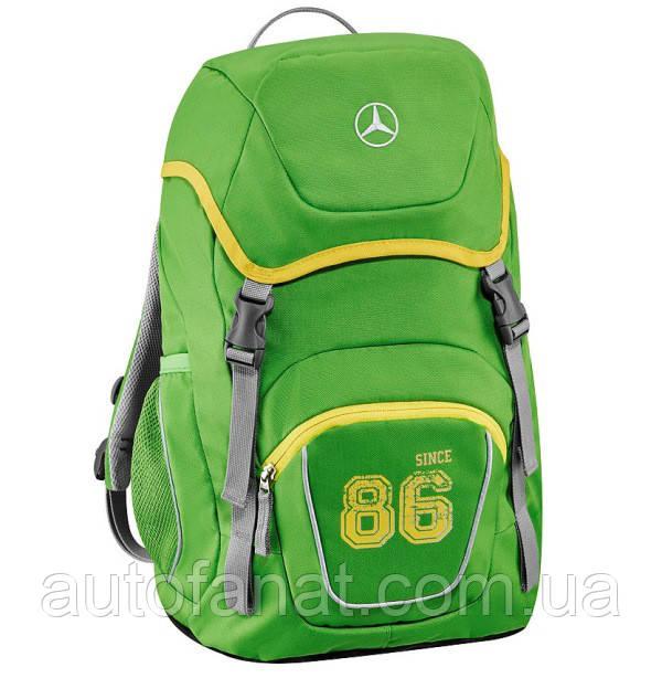 Оригинальный детский рюкзак Mercedes-Benz Kids Rucksack, Spring Lemon (B66958435)