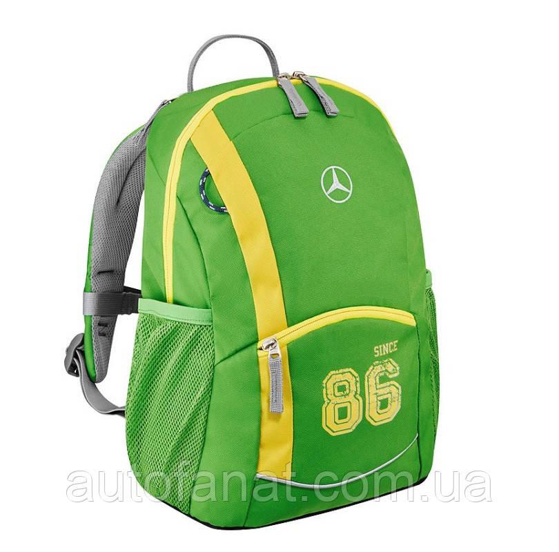 Оригинальный детский рюкзак Mercedes-Benz kid's Backpack, Spring Lemon (B66958434)